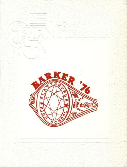 1976 Plattsburgh High School Yearbook Cover