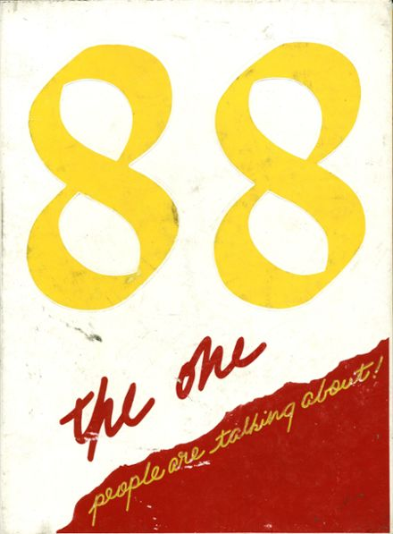 1988 Eldorado High School Yearbook Cover