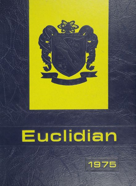 1975 Euclid High School Yearbook Cover