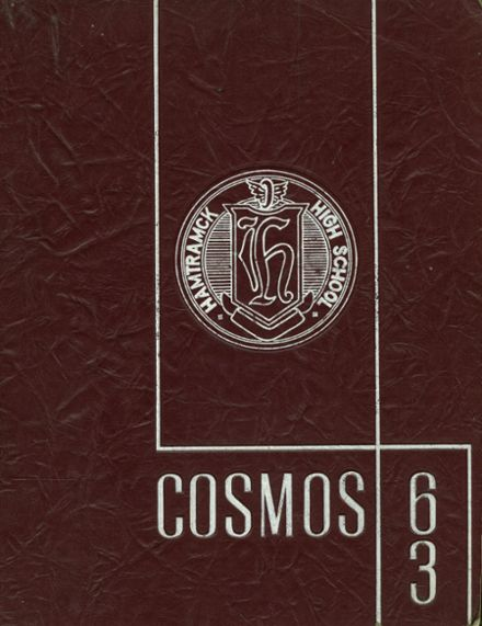 1963 Hamtramck High School Yearbook Cover