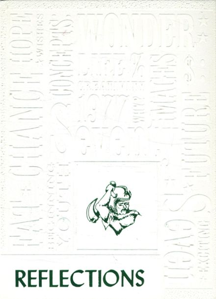 1977 St. John's at Prospect Hall High School Yearbook Cover