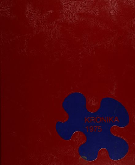 1975 Christiana High School Yearbook Cover