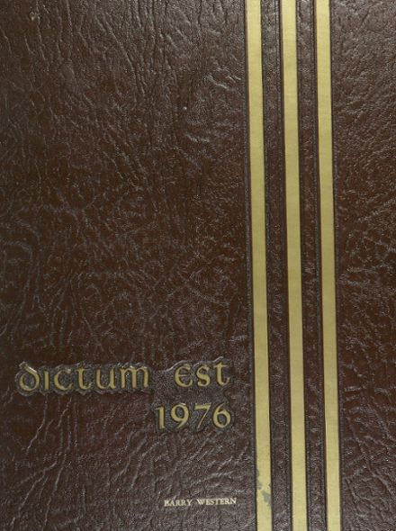 1976 Red Bluff Union High School Yearbook Cover