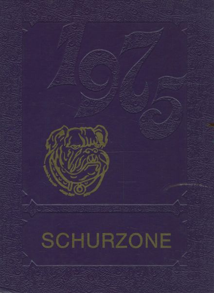 1975 Schurz High School Yearbook Cover