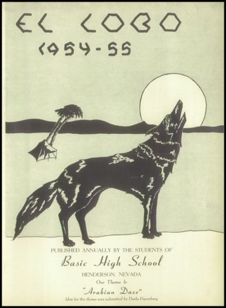 1955 Basic High School Yearbook Page 7