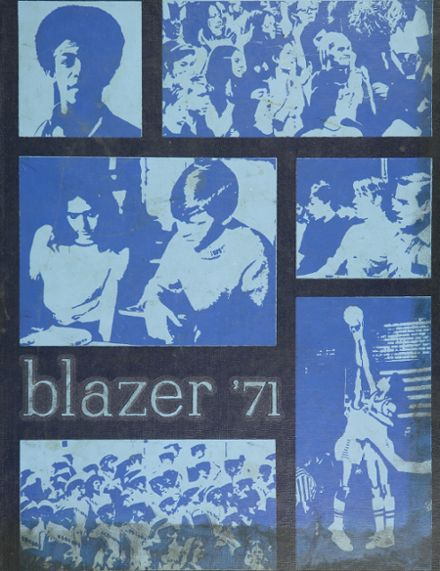1971 Redford High School Yearbook Cover