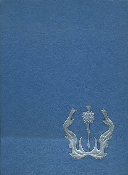 1965 La Habra High School Yearbook Cover