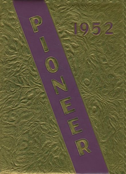 1952 Nebraska City High School Yearbook Cover