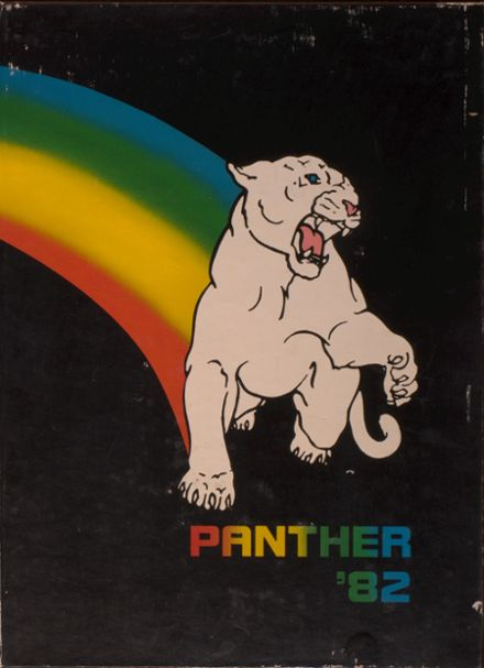 1982 O'Fallon Township High School Yearbook Cover