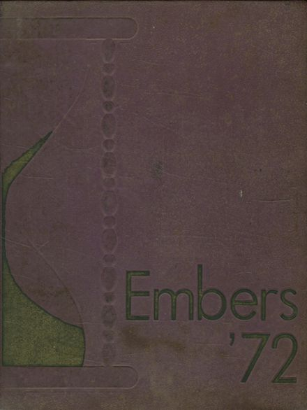1972 Eden High School Yearbook Cover