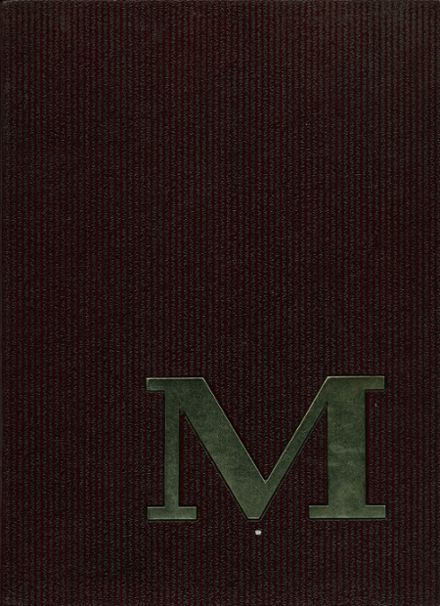 1967 Moline High School Yearbook Cover