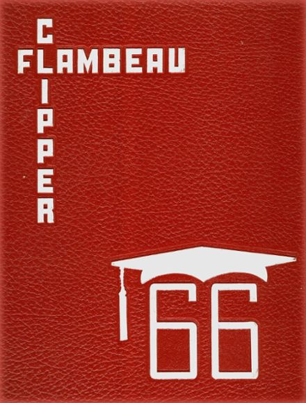 1966 DuBois Area High School Yearbook Cover