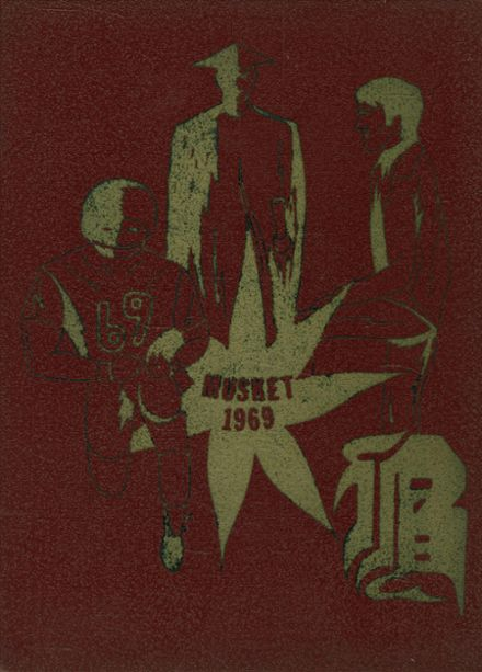 1969 Boonville High School Yearbook Cover