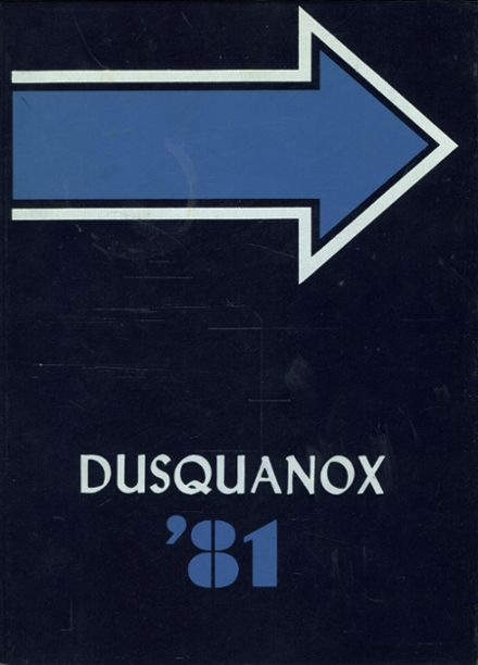 1981 Duanesburg Central High School Yearbook Cover