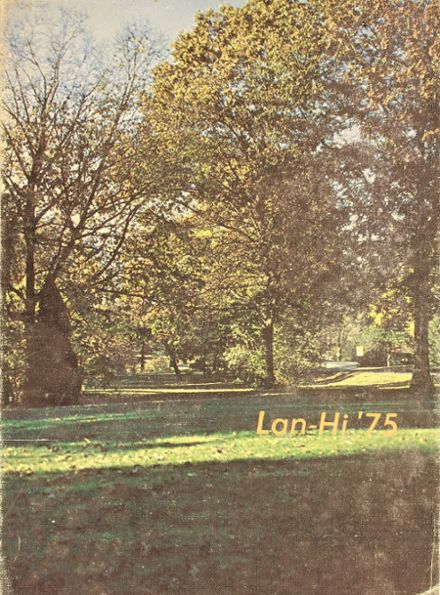 1975 Lanphier High School Yearbook Cover