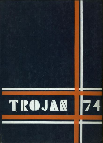 1974 A.C. Jones High School Yearbook Cover