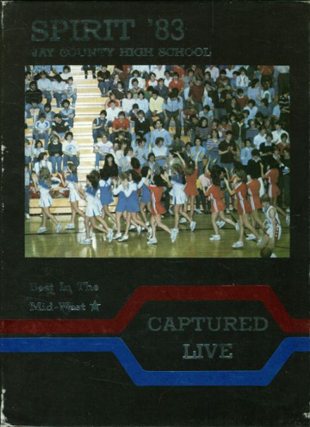 1983 Jay County High School Yearbook Cover