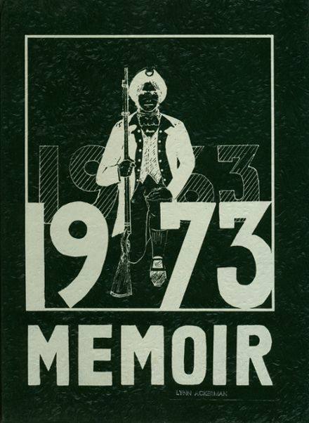 1973 Hoover High School Yearbook Cover