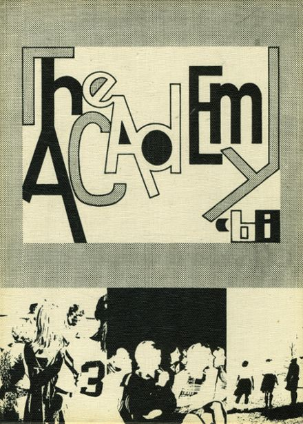 1968 St. Joseph's Academy Yearbook Cover