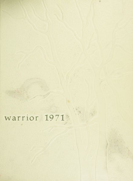 1971 Pascack Valley High School Yearbook Cover