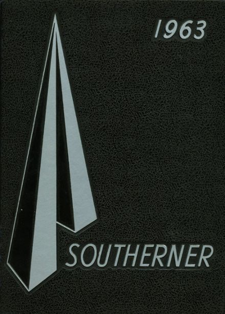 1963 Southern High School Yearbook Cover