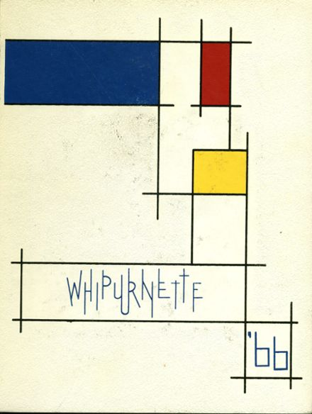 1966 Marinette High School Yearbook Cover