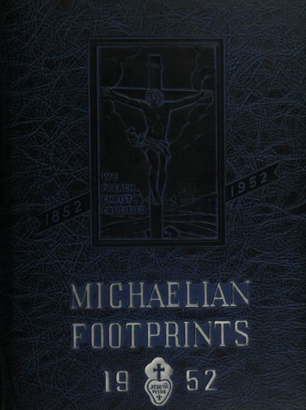 1952 St. Michael's High School Yearbook Cover