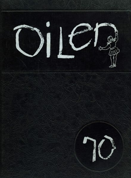 1970 East Alton-Wood River High School Yearbook Cover