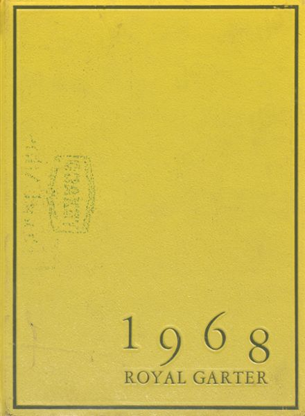 1968 Churchill High School Yearbook Cover
