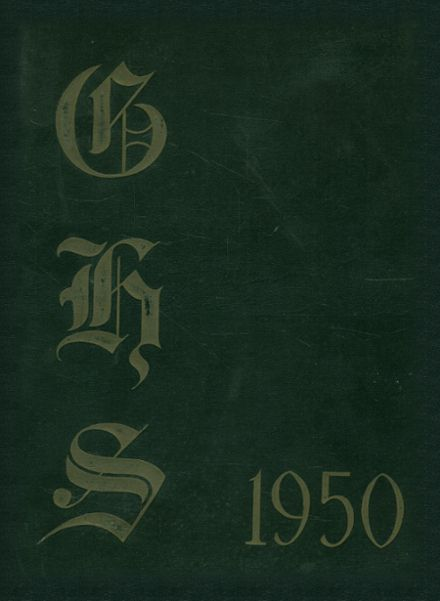1950 Girls' High School Yearbook Cover