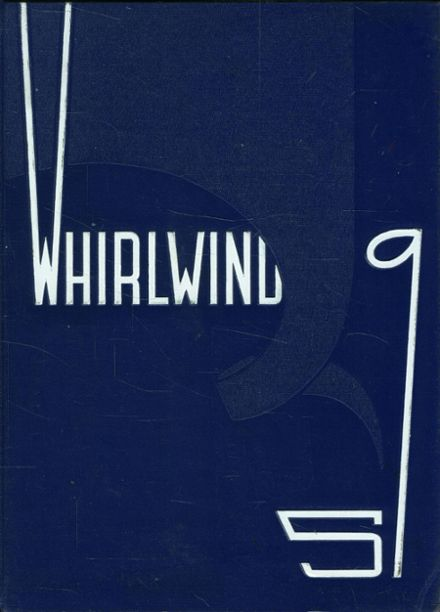 1959 Albany Union High School Yearbook Cover