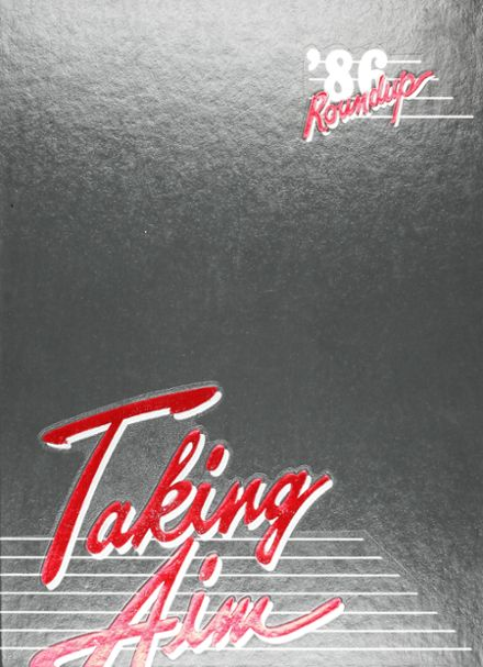 1986 Travis High School Yearbook Cover