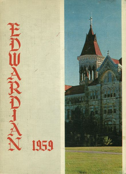 1959 St. Edward's High School Yearbook Cover