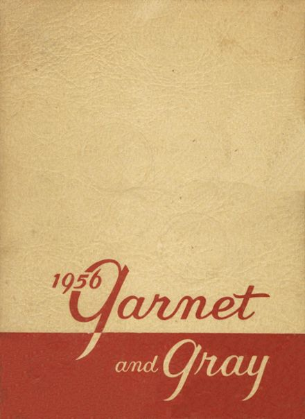 1956 Albany High School Yearbook Cover