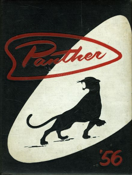 1956 West High School Yearbook Cover