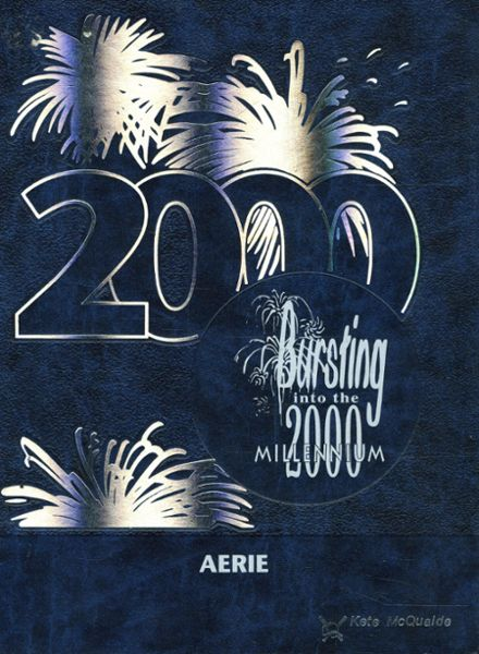 2000 Connellsville High School Yearbook Cover