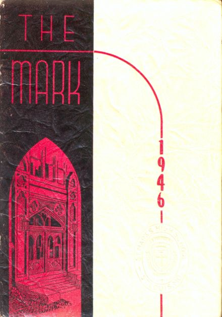 1946 St. Mark's Catholic School Yearbook Cover