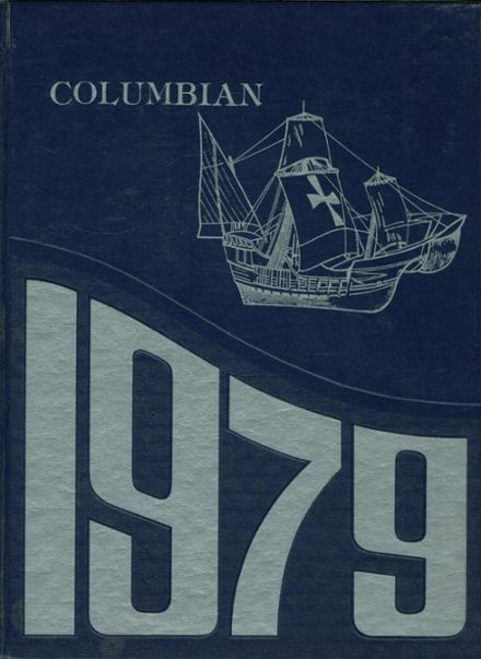 1979 Columbus Catholic High School Yearbook Cover