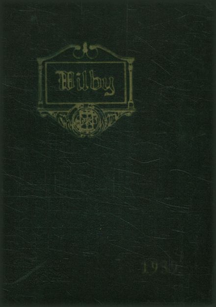 1939 Wilby High School Yearbook Cover