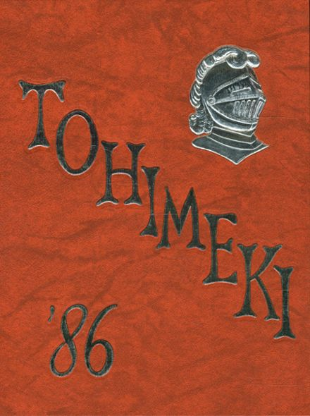 1986 Towanda High School Yearbook Cover