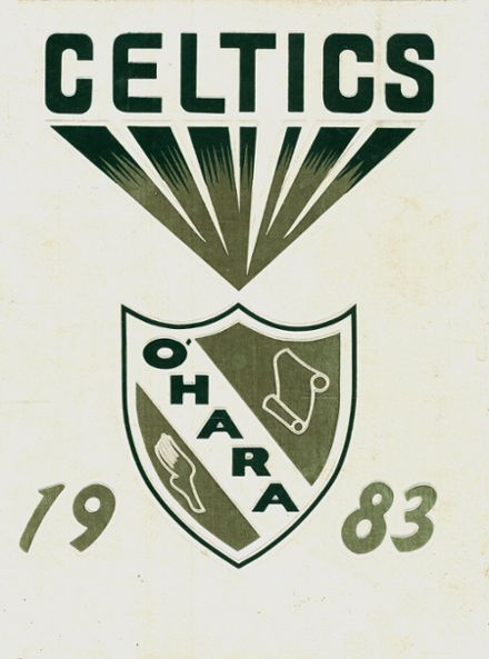1983 O'Hara High School Yearbook Cover