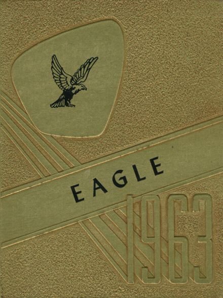 1963 O'Donnell High School Yearbook Cover