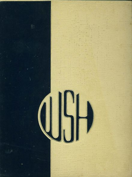 1969 Whitesboro High School Yearbook Cover