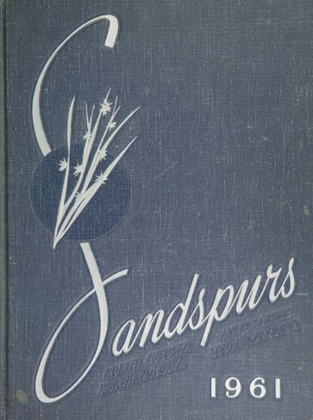 1961 North Augusta High School Yearbook Cover
