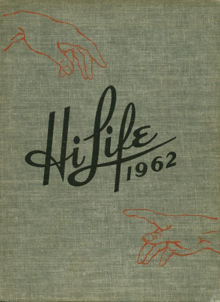 1962 Ashland High School Yearbook Cover