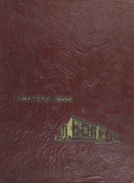 1966 Oceanside High School Yearbook Cover