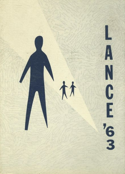1963 St. Mary's High School Yearbook Cover