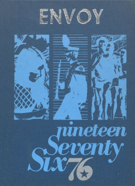 1976 L'Anse High School Yearbook Cover