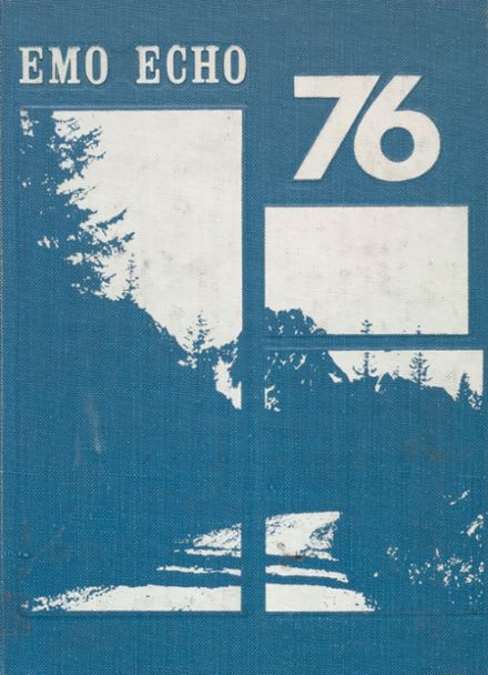 1976 Eastmont High School Yearbook Cover