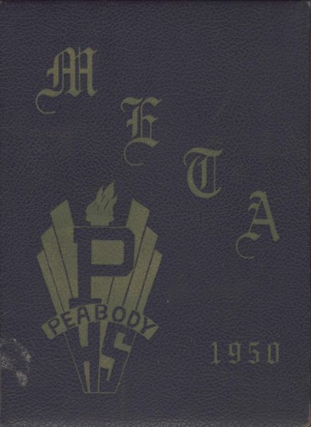 1950 Peabody High School Yearbook Cover